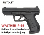 3 pistolet Walther p 99